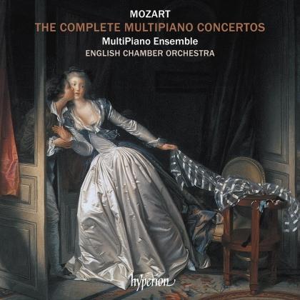 MultiPiano Ensemble, English Chamber Orchestra, Tomer Lev, Berenika Glixman & Wolfgang Amadeus Mozart (1756-1791) - Mozart Complete Multipiano Concertos