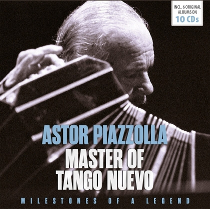 Astor Piazzolla - Master Of The Bandoneon (Documents, 10 CDs)