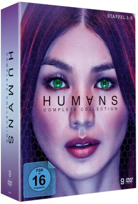 Humans - Complete Collection - Staffel 1-3 (9 DVDs)