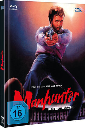 Manhunter (1986) (Cover A, Edizione Limitata, Mediabook, Blu-ray + DVD)