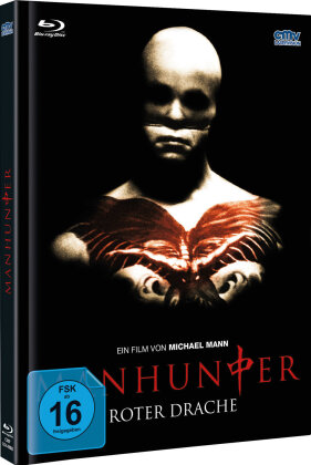 Manhunter - Roter Drache (1986) (Cover B, Limited Edition, Mediabook, Blu-ray + DVD)