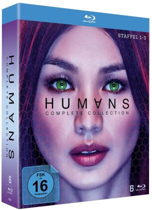 Humans - Complete Collection - Staffel 1-3 (6 Blu-rays)