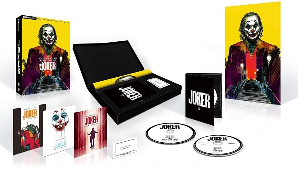Joker (2019) (Box, Collector's Edition, 4K Ultra HD + Blu-ray)