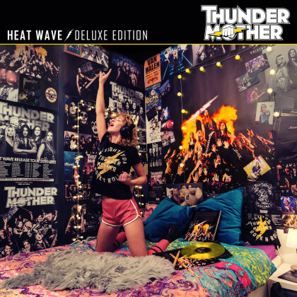 Thundermother - Heat Wave (2021 Reissue, Digipack, AFM Records, Deluxe Edition, 2 CDs)