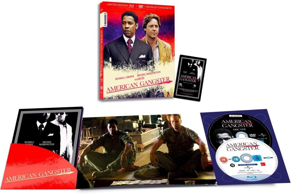 American Gangster (2007) (I Numeri 1, Limited Edition, Blu-ray + DVD)