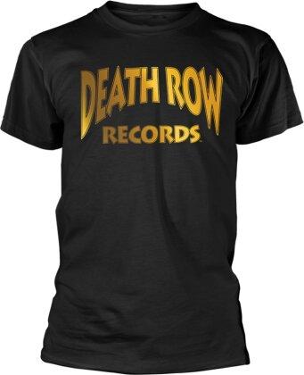 Death Row Records - Death Row Logo Gold (Foil Print)