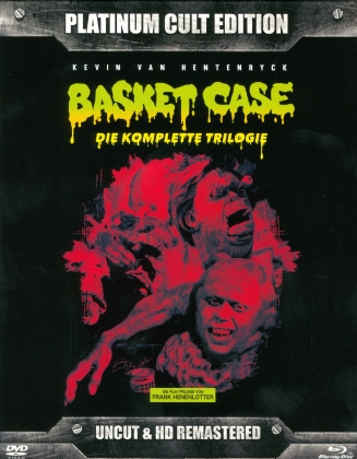 Basket Case 1-3 (Platinum Cult Edition, Remastered, Uncut, 8 Blu-rays)