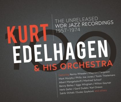 Kurt Edelhagen & His Orchestra - 100 - The Unreleased Wdr Jazz Recordings (3 CD)