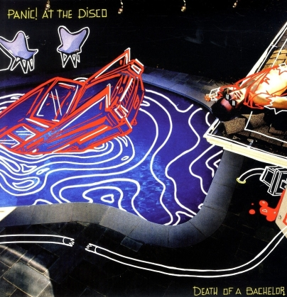 Panic At The Disco - Death Of A Bachelor (Limited, 2021 Reissue, Anniversary Edition, Silver Colored Vinyl, LP)