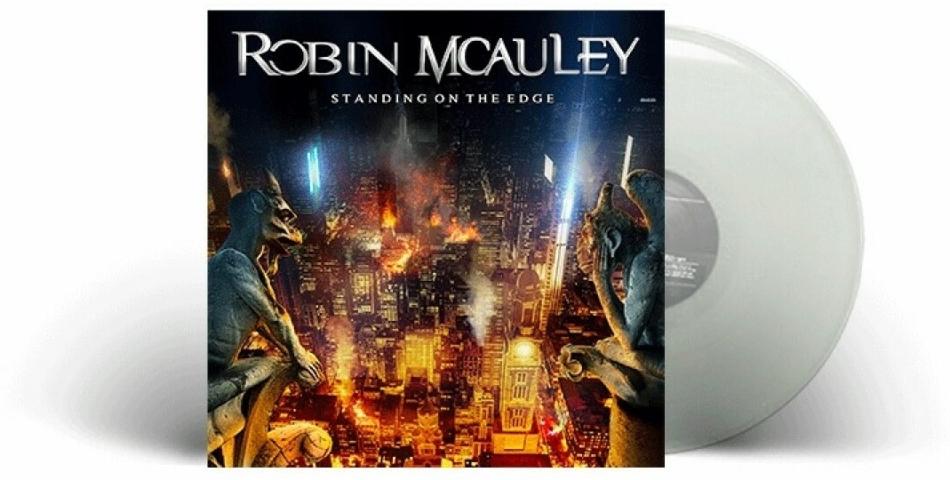 Robin McAuley (MSG/Black Swan) - Standing On The Edge (Clear Vinyl, LP)