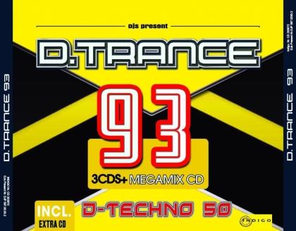 D.Trance 93 (Incl. D-Techno 50) (4 CDs)