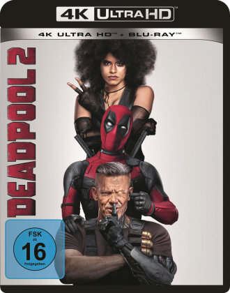 Deadpool 2 (2018) (4K Ultra HD + Blu-ray)