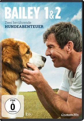 Bailey 1 & 2 - Zwei berührende Hundeabenteuer (2 DVDs)