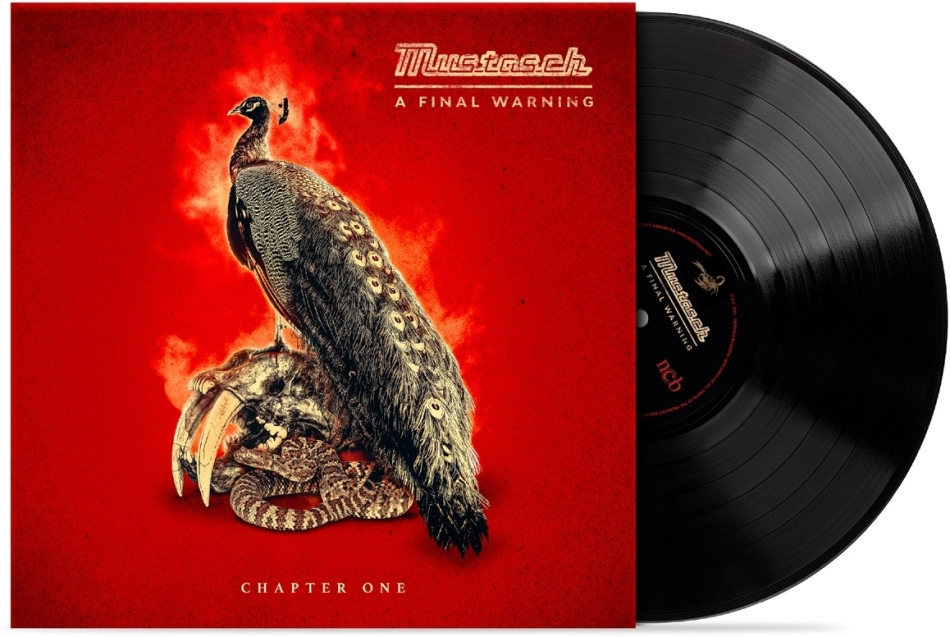 """Mustasch - A Final Warning - Chapter One EP (10"""" Maxi)"""