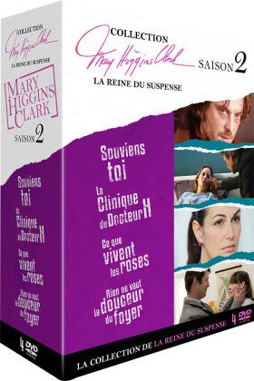 Collection Mary Higgins Clark - La reine du suspense - Saison 2 (4 DVDs)