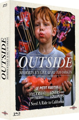 Outside - Morris Engel & Ruth Orkin - Oeuvres complètes (3 Blu-rays)