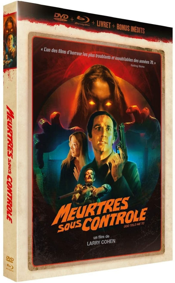 Meurtres sous contrôle (1976) (Schuber, Collector's Edition, Digibook, Blu-ray + DVD)