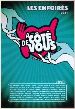 Les Enfoirés - Les Enfoirés 2021 - à côté de vous (2 DVDs)