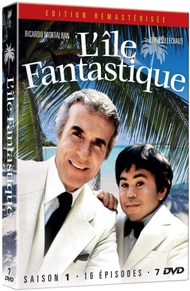 L'île Fantastique - Saison 1 (Remastered, 7 DVDs)