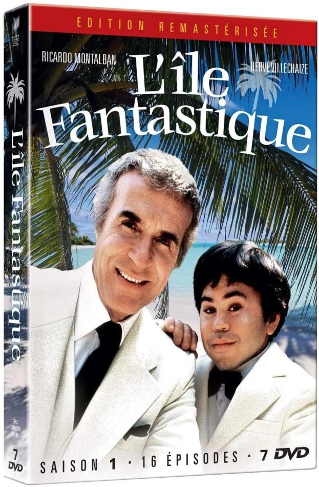 L'île Fantastique - Saison 1 (Remastered, 7 DVDs)