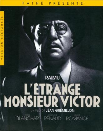 L'étrange Monsieur Victor (1938) (s/w, Collector's Edition, Digibook, Restaurierte Fassung, Blu-ray + DVD)
