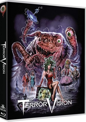 Terror Vision (1986) (Limited Edition, Uncut, Blu-ray + DVD)