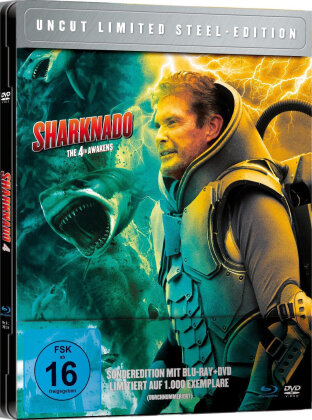 Sharknado 4 - The 4th Awakens (2016) (Limited Edition, Steelbook, Uncut)