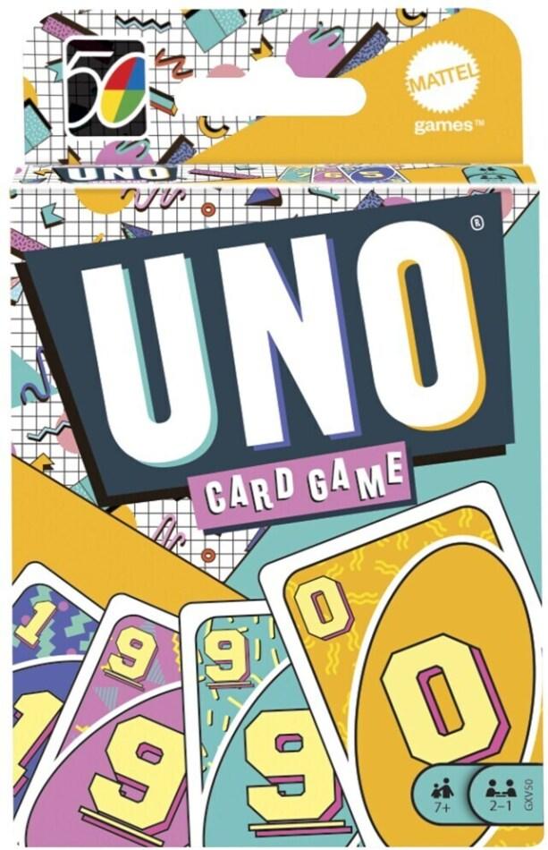 UNO Iconic Series 1990's Premium Jubiläumsedition (Spiel)