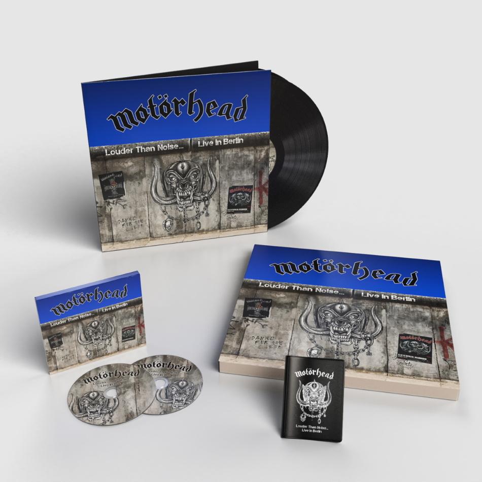 Motörhead - Louder Than Noise - Live in Berlin (Limited, 2 LPs + DVD + CD)