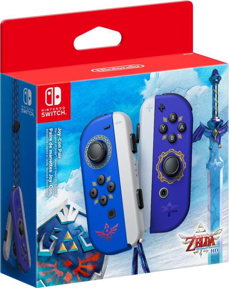 Switch Joy-Con Controller - The Legend of Zelda: Skyward Sword-Edition