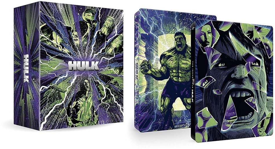 Hulk - Deluxe Collection (Limited Edition, Steelbook, 2 4K Ultra HDs + 2 Blu-rays)