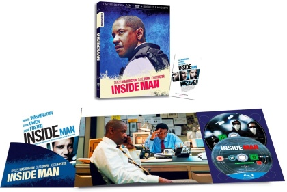 Inside Man (2006) (I Numeri 1, Limited Edition, Blu-ray + DVD)