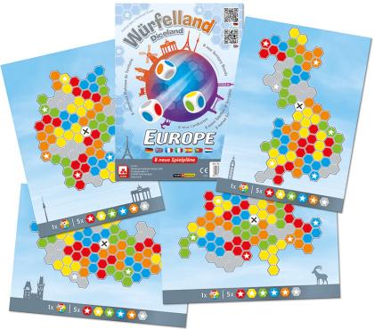 Würfelland - Europa (Spiel-Zubehör)