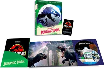 Jurassic Park (1993) (I Numeri 1, Edizione Limitata, Blu-ray + DVD)