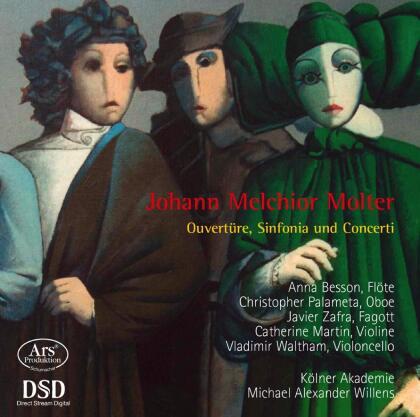 Johann Melchior Molter (1696-1765), Michael Alexander Willens & Kölner Akademie - Ouvertüre, Sonfonia und Concerti - Forgotten Treasures Vol.12 (Hybrid SACD)