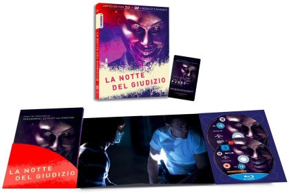 La notte del giudizio (2013) (I Numeri 1, Edizione Limitata, Blu-ray + DVD)