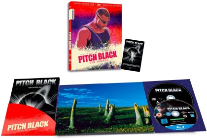 Pitch Black (2000) (I Numeri 1, Limited Edition, Blu-ray + DVD)