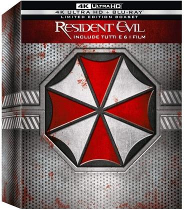 Resident Evil (Limited Boxset, 6 4K Ultra HDs + 6 Blu-rays)