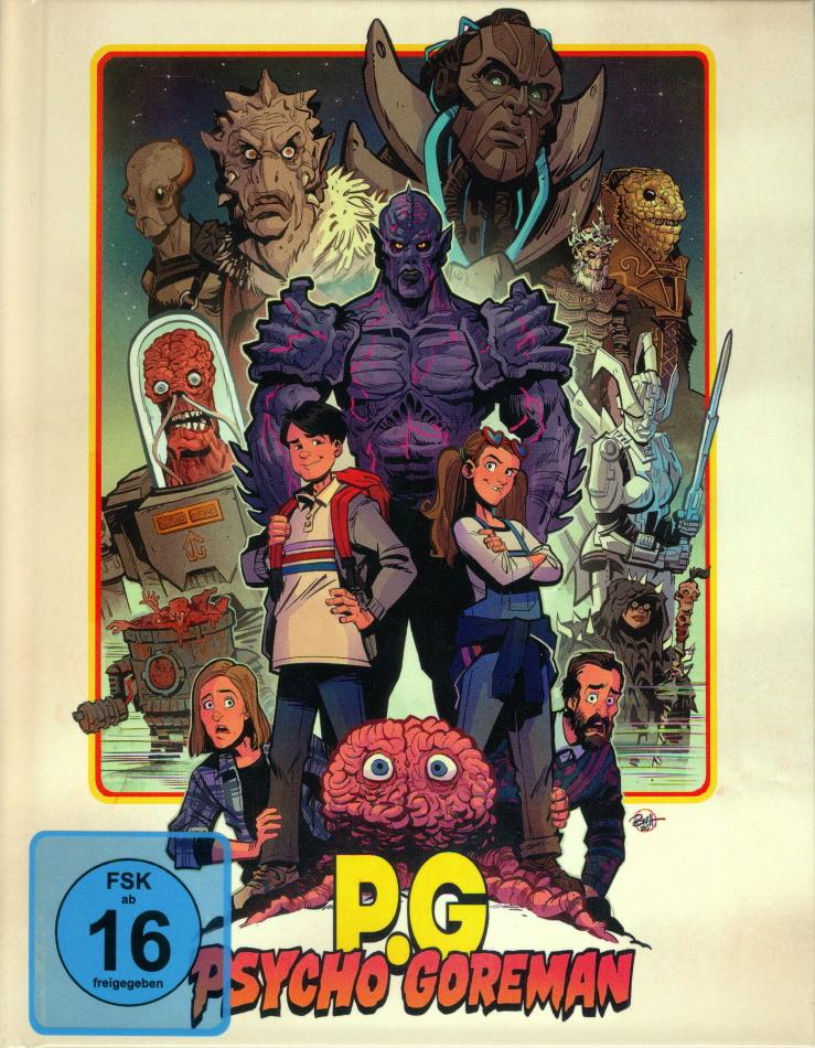 Psycho Goreman (2020) (Limited Edition, Mediabook, Blu-ray + DVD)