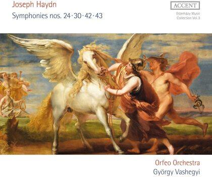 Orfeo Orchestra, Joseph Haydn (1732-1809) & György Vashegyi - Symphonies 24, 30, 42, 43
