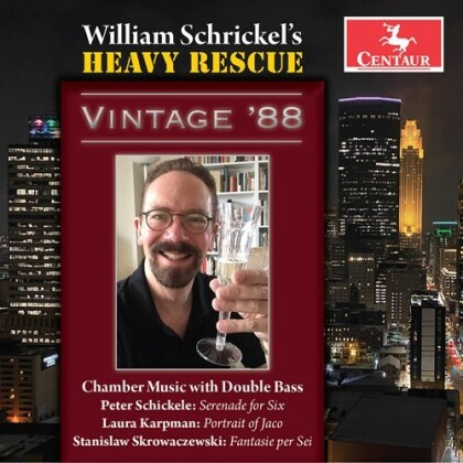 Prof. Peter Schickele P.D.Q. Bach, Laura Karpman, Stanislaw Skrowaczewski & William Schrickel - Heavy Rescue - Vintage '88 - Chamber Music With Double Bass