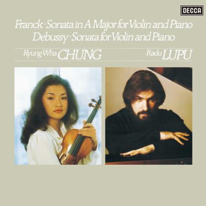 César Franck (1822-1890), Claude Debussy (1862-1918), Kyung-Wha Chung & Radu Lupu - Sonatas For Violin & Piano (LP)