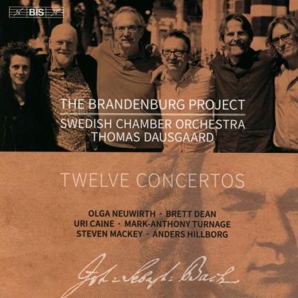 Thomas Dausgaard & Swedish Chamber Orchestra - The Brandenburg Project - Twelve Concertos (Hybrid SACD)