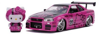 1:24 2002 Nissan Skyline W/Hello Kitty Figure