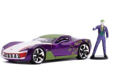 1:24 2009 Corvette Stingray Concept W/Joker Figure