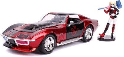 1:24 1969 Corvette Stingray W/Harley Quinn Figure