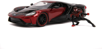 1:24 2017 Ford Gt W/Miles Morales Figure