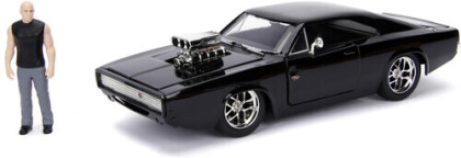 1:24 1970 Dodge Charger (Street) W/Dom Toretto Fig