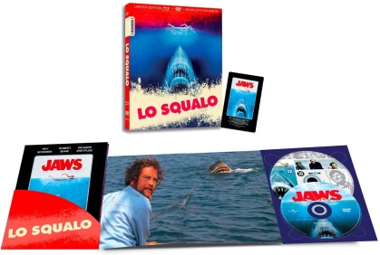 Lo Squalo (1975) (I Numeri 1, Limited Edition, Blu-ray + DVD)