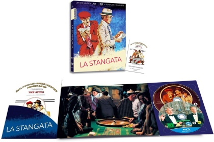 La Stangata (1973) (I Numeri 1, Limited Edition, Blu-ray + DVD)